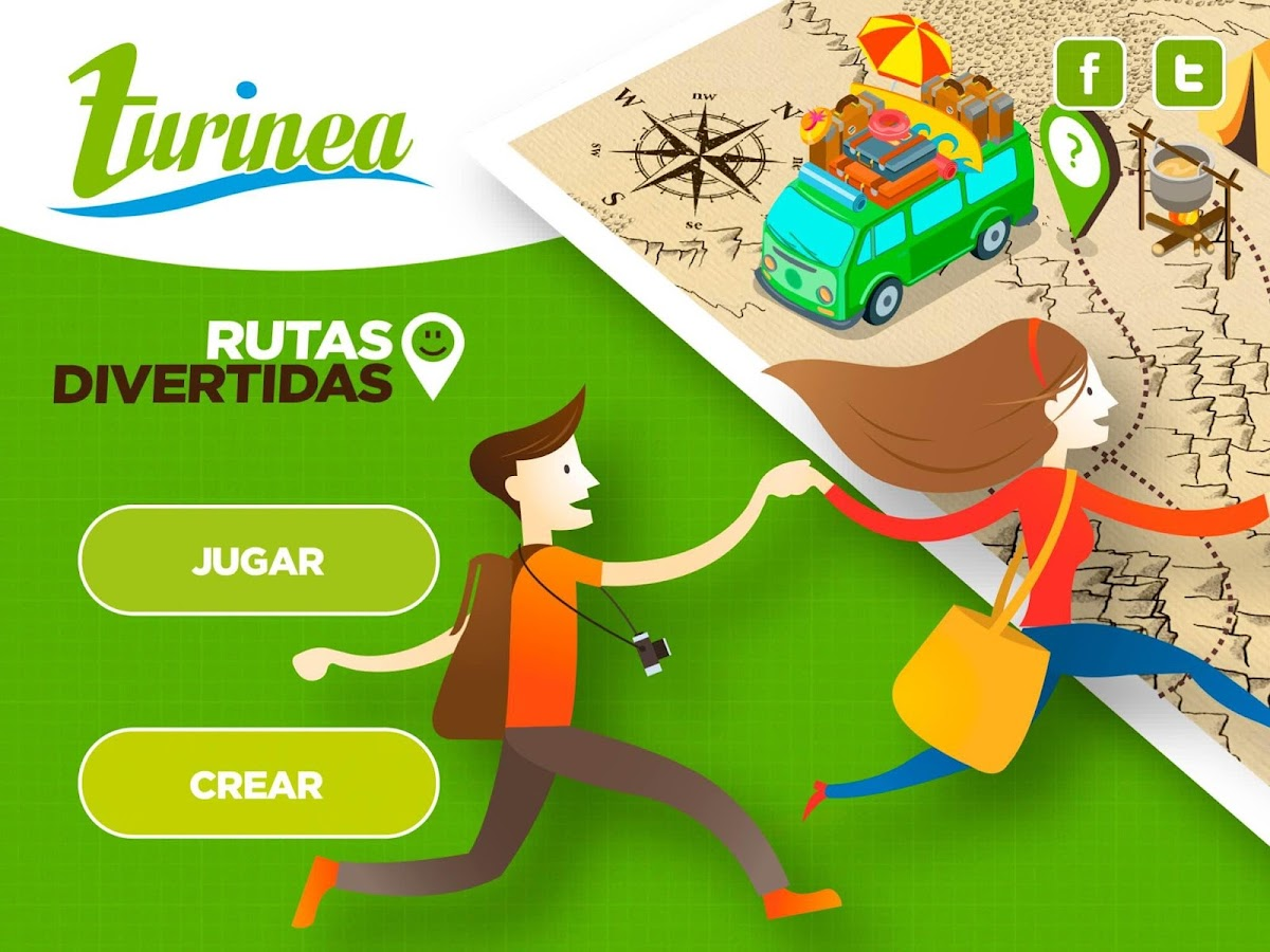 TURINEA Rutas Divertidas: captura de pantalla