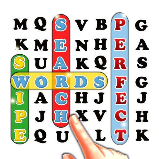 拼字の言葉は完璧なスワイプを検索します LOGO-HotApp4Game