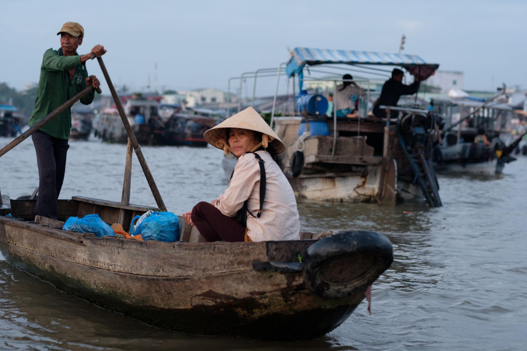 Mekong Market, Can Tho, Vietnam