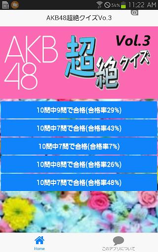 AKB48超絶クイズVol.3