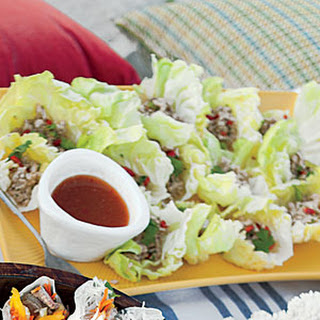 Spicy Lettuce-Wrapped Chicken
