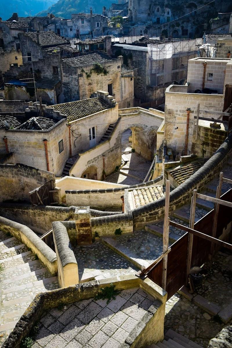 Le scale per il Borgo  di DiegoCattel