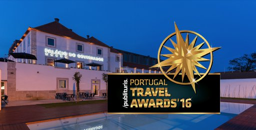 Palácio do Governador vencedor nos Publituris Portugal Trade Awards