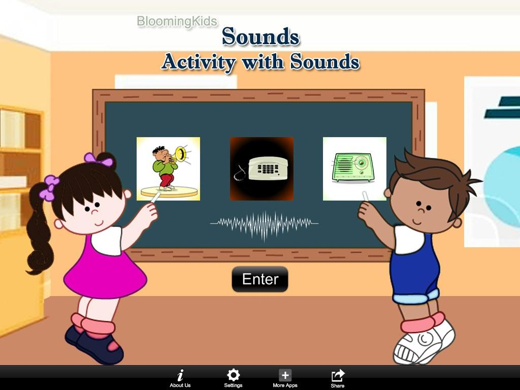 Activity with Sounds Lite- screenshot