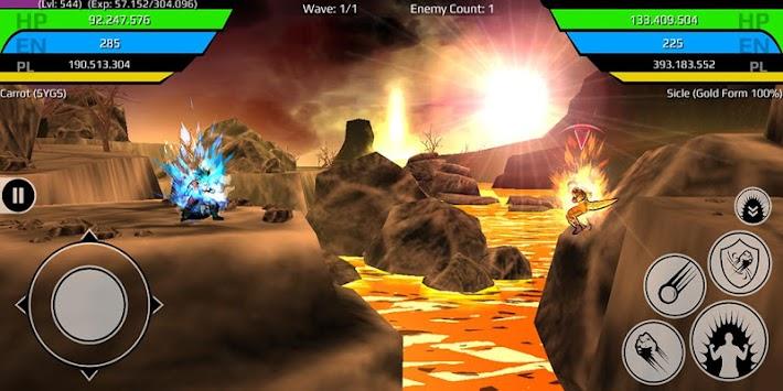 The Final Power Level Warrior (RPG)
