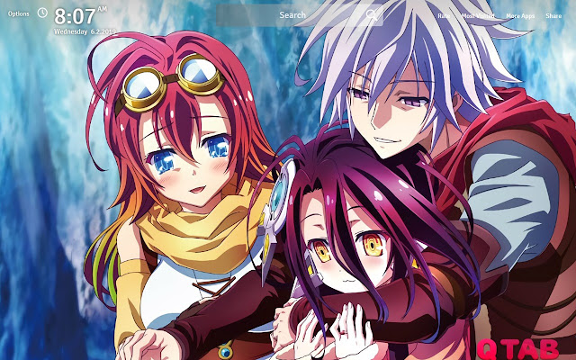 No Game No Life Zero Wallpapers Hd New Tab