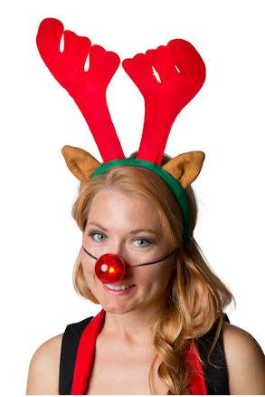 Rudolfset, blinkande nos