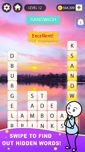Word Gallery: Free Crossword Brain Puzzle Games 1.1.3 screenshots 1