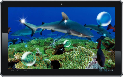 【免費個人化App】Underwater Sea Predators LWP-APP點子