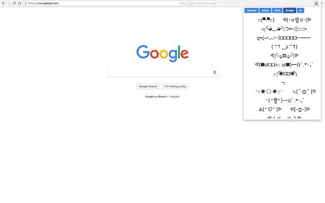 Symbol 2 Clipboard Chrome