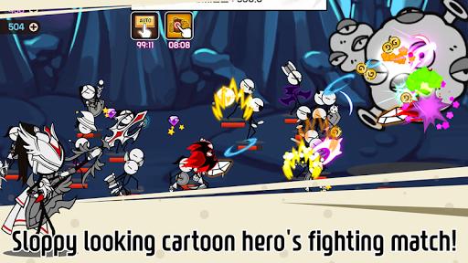 Legend of the cartoon - idle RPG screenshots 2
