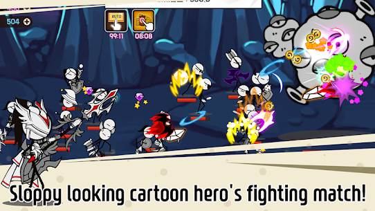Legend of the cartoon – idle RPG Apk Download For Android and Iphone 2