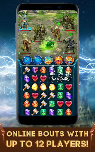 vortex: heroes of battle stones match-3 rpg screenshot 3