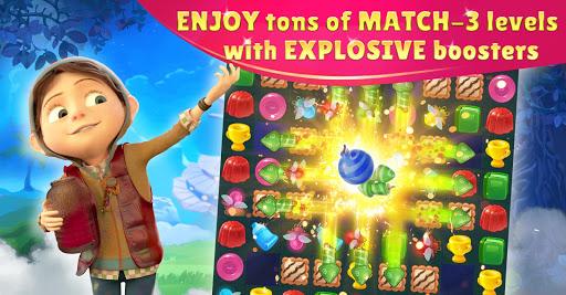 Jingle Kids: Paradise Island Big Adventure Match-3 screenshots 1