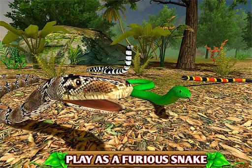 Code Triche Simulateur de serpent furieux APK MOD screenshots 1