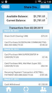 Texas Plains FCU Mobile App- screenshot thumbnail