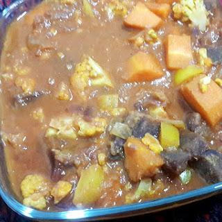 Purple Sweet Potato Curry