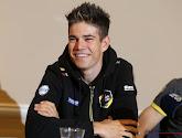 Wout van Aert (Jumbo-Visma) a été surpris lors de la reconnaissance de Paris-Roubaix