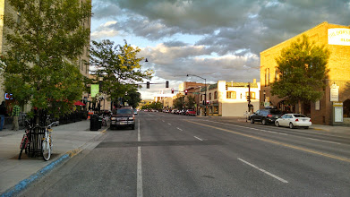 Photo: Our stop for the night: Bozeman. It's actually okay! Being a campus town helps.