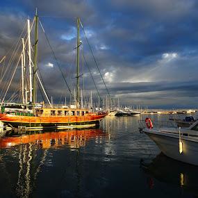 Puerto de Cambrils  by Juan Tomas Alvarez Minobis - Transportation Boats (  )