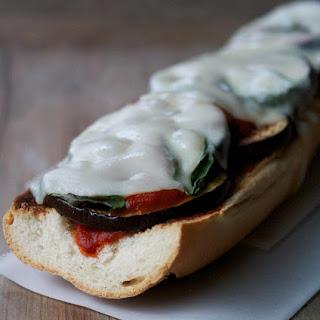 Easy Eggplant Parmesan Melt