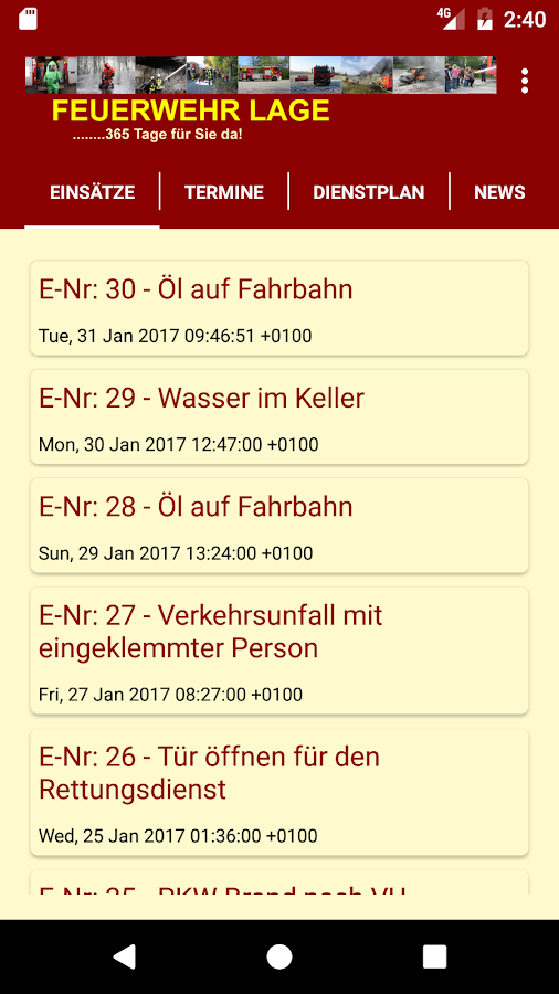 FW Lage- screenshot