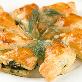 Spinach, Feta And Dill Turnovers