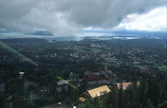 Photo: Oslo von Holmenkolmen