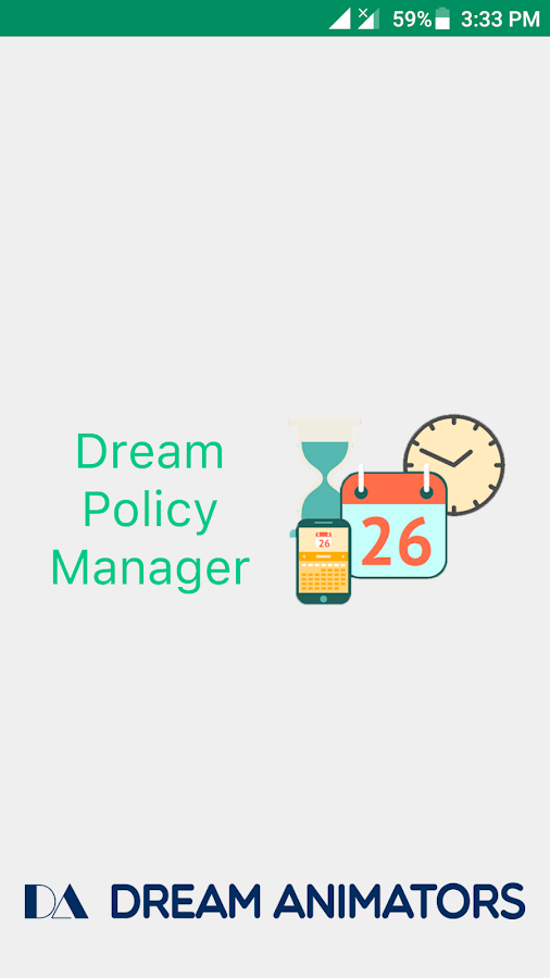 Dream Policy Manager- screenshot