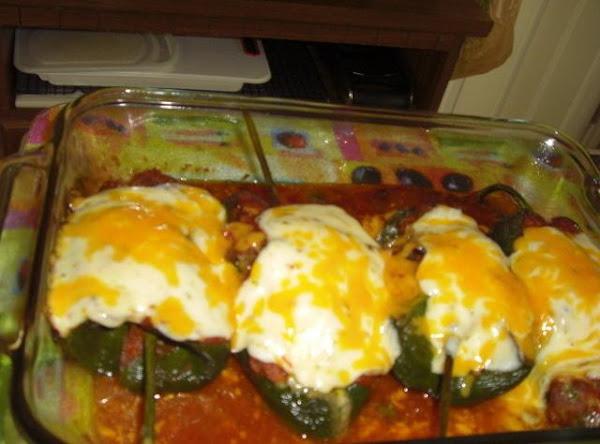 Poblanos Stuffed With Chorizo Recipe
