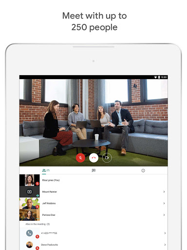 Google Meet - Secure Video Meetings 44.5.324814572 Screenshots 8