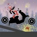 Stickman Dismounting Falling icon