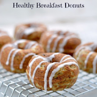 Gluten Free Healthy Breakfast Donuts