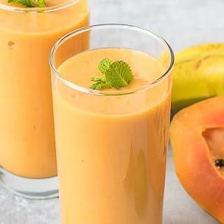 Turmeric Papaya Smoothie.