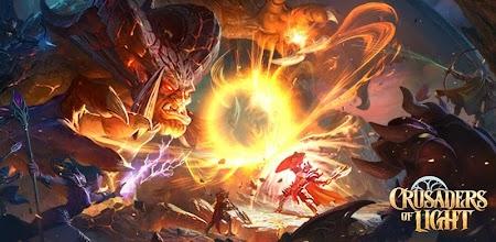 Crusaders of Light APK poster
