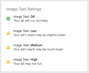 Facebook Ad Not Approved Facebook Ad Image Ratings