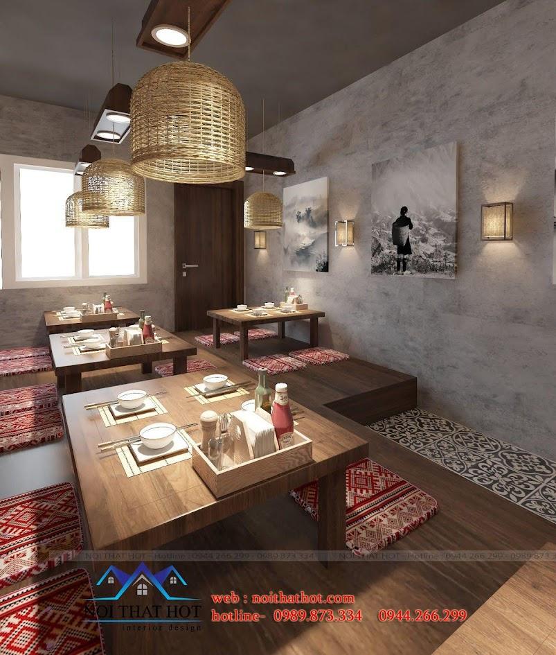 thiết kế nhà hàng thắng cố 6