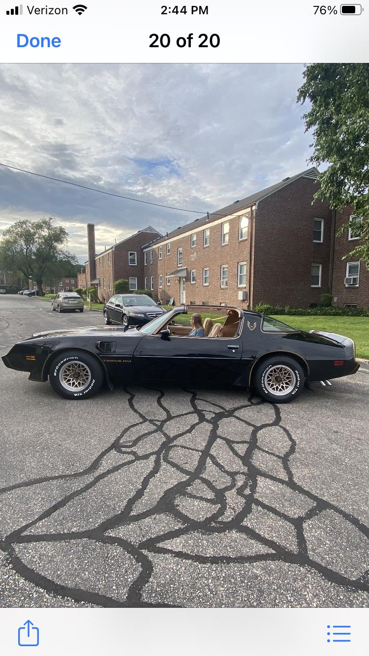 Pontiac Firebird Trans Am Hire Cranston