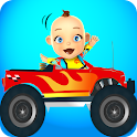Baby Monster Truck Game – Cars icon