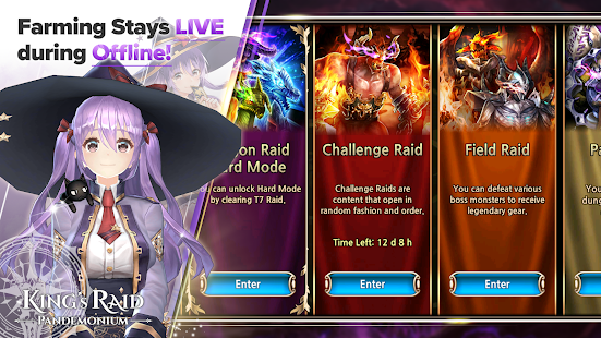 Mod Game King's Raid for Android