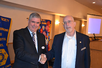 Photo: ASHRAE OVC President Don Weekes and February Speaker Daniel Int-Hout III- Chief Engineer, Kreuger (ASHRAE DL)