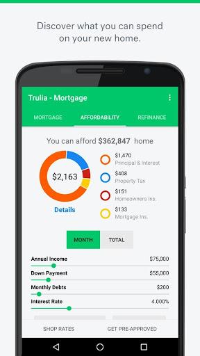 Trulia Mortgage Calculators  screenshots 2