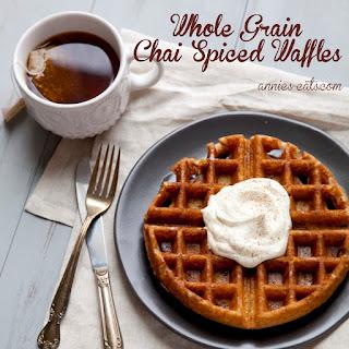 Whole Grain Chai Waffles