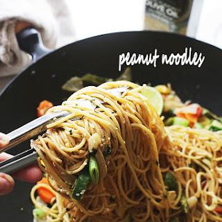 Garlic Peanut Noodles