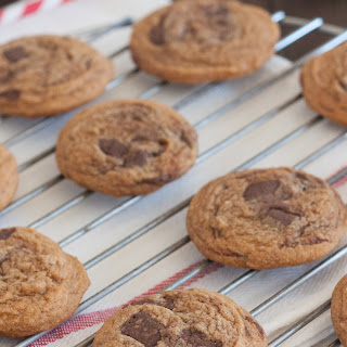 Pumpkin Spice Nutella Chunk Pudding Cookies