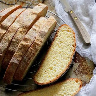 Polenta Ricotta Bread Recipe