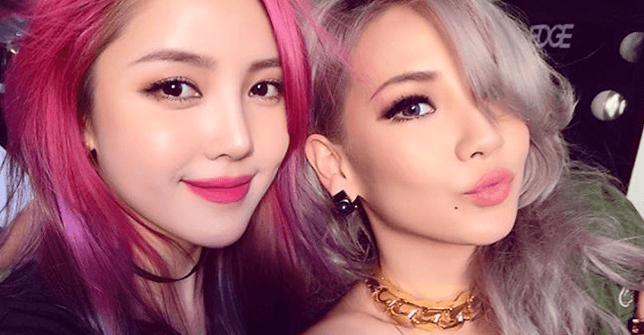 Fans going crazy over CL's beautiful pink-haired makeup artist