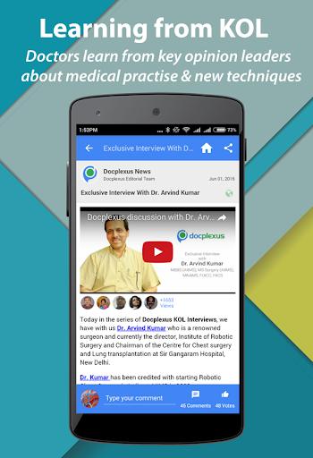 Docplexus- Network for Doctors screenshot 2