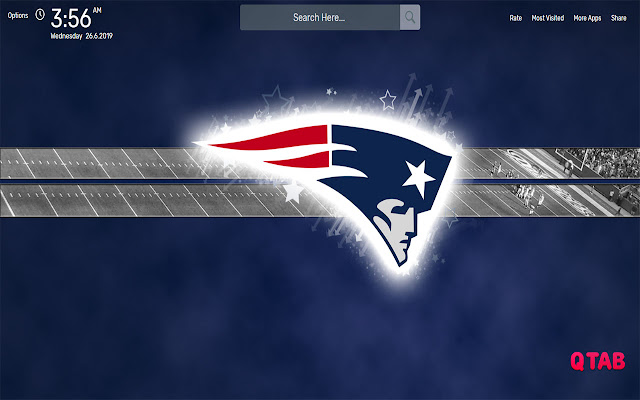 New England Patriots Background