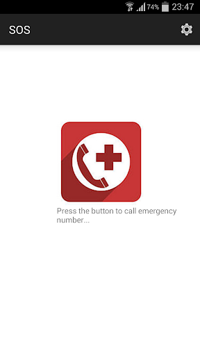 SOS Call emergency number 911